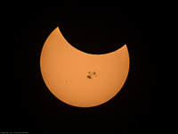 October 2014 Partial Solar Eclipse