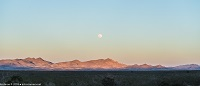 Moonrise Over New Mexico