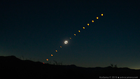 2019 Total Solar Eclipse Sequence